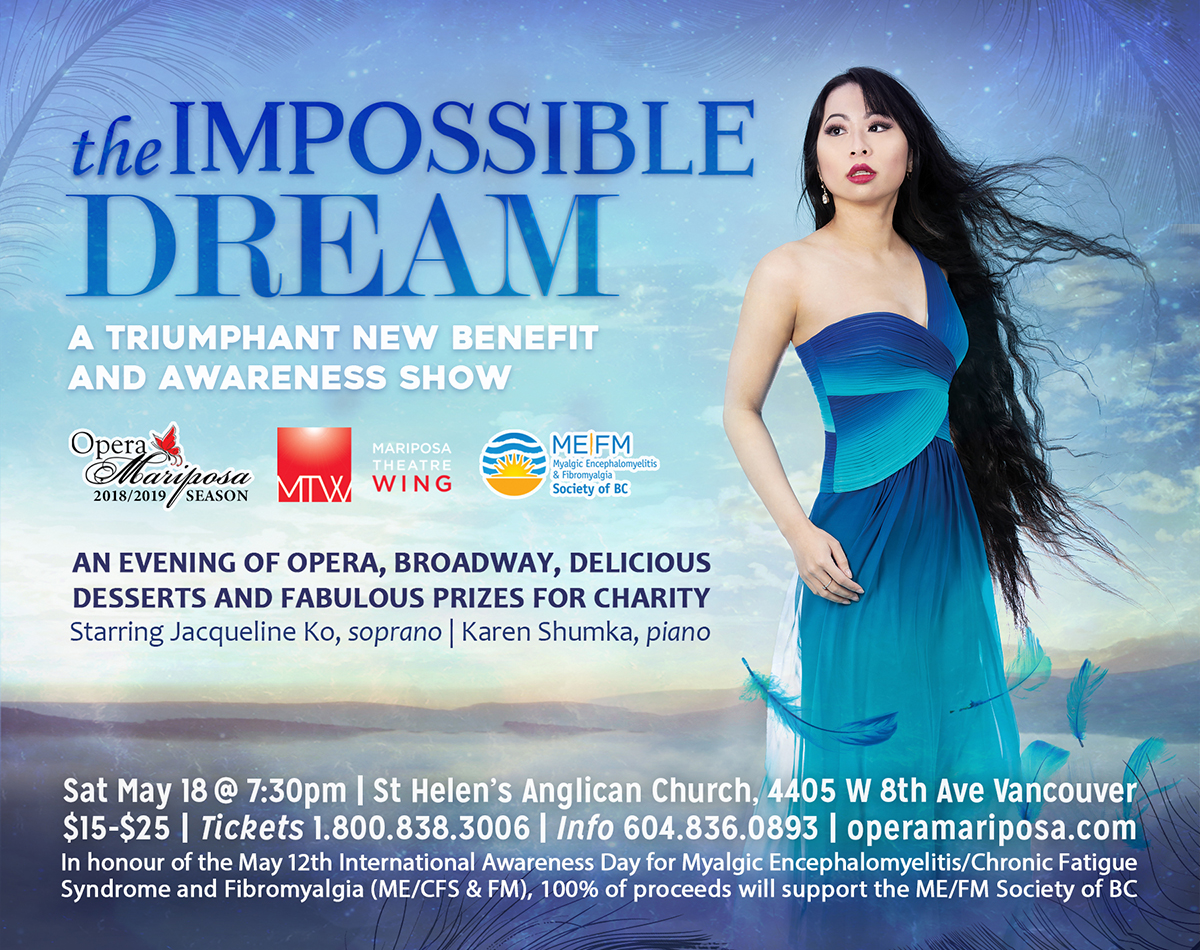The Impossible Dream: A Triumphant New Benefit and Awareness Show Logo