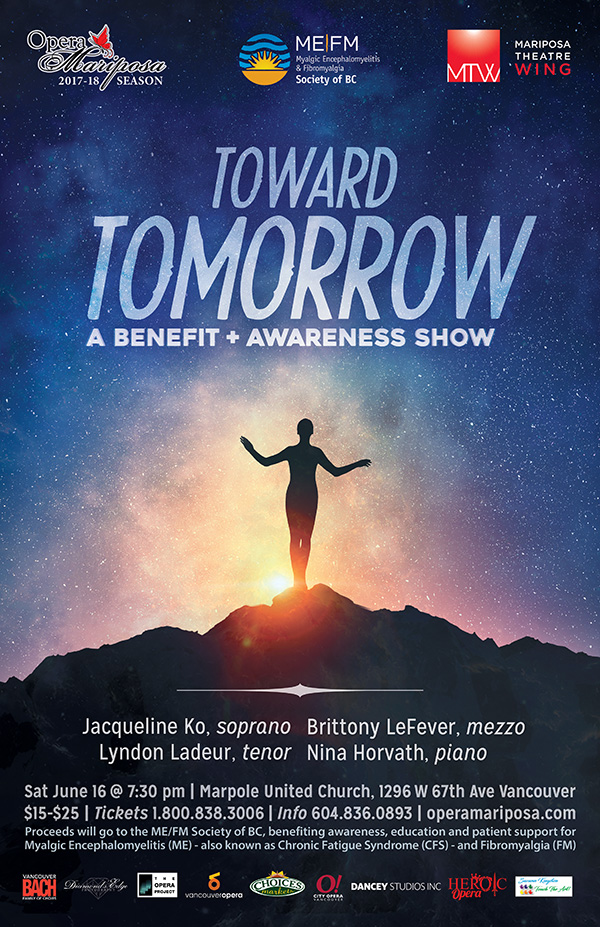Toward Tomorrow: A Benefit + Awareness Show Logo