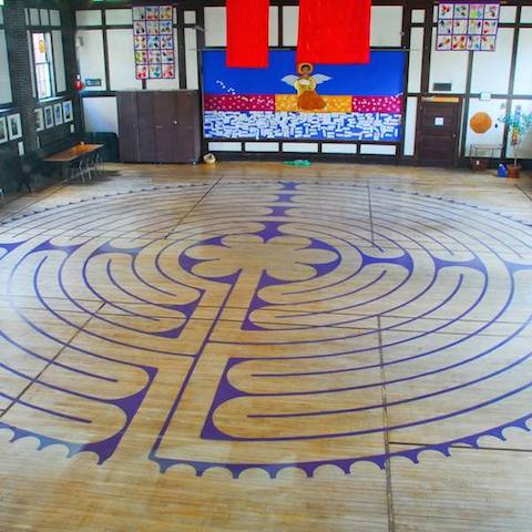 St. Paul's Labyrinth in the West End Logo