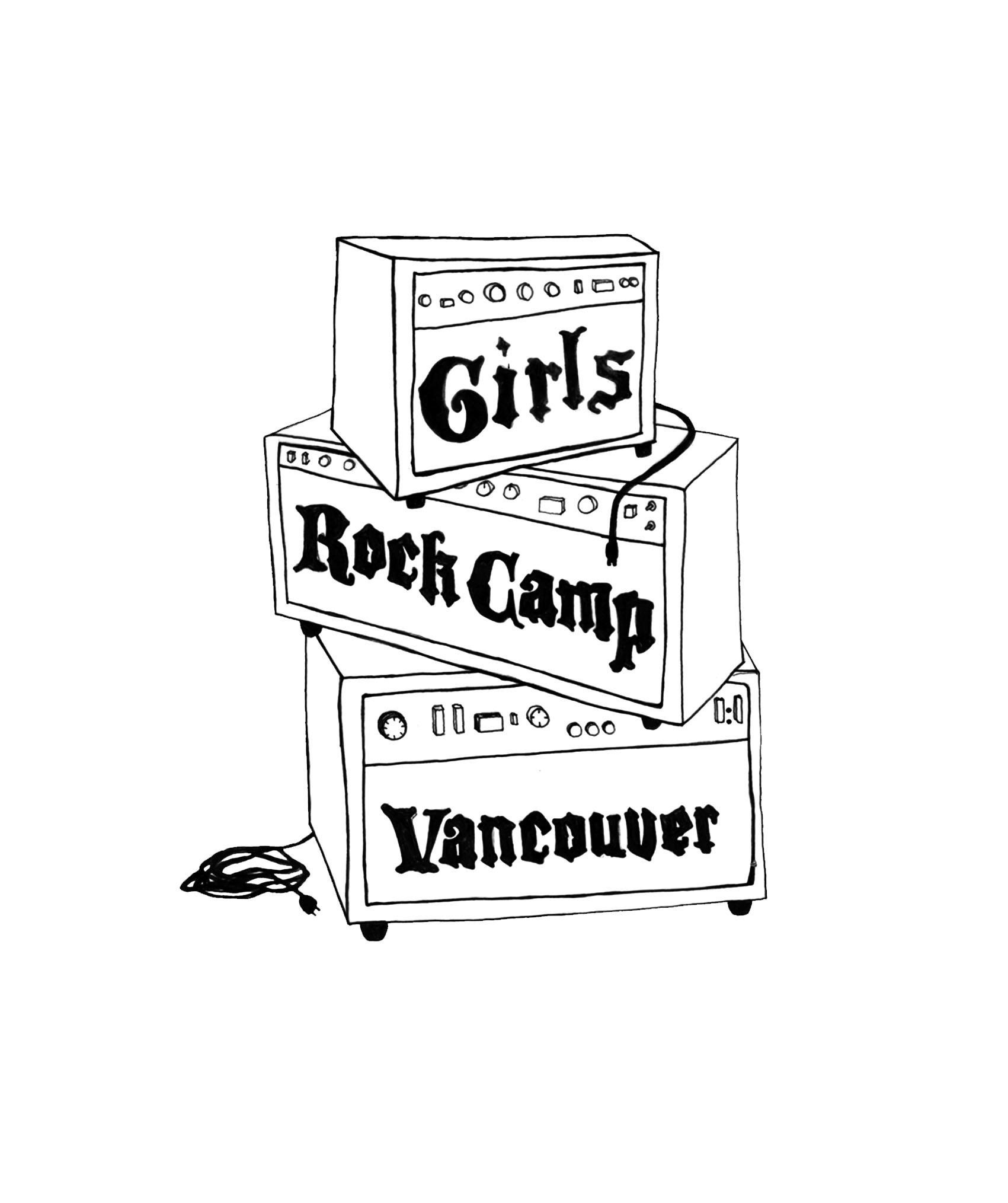 Girls Rock Camp Vancouver Logo