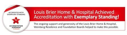 Louis Brier Home & Hospital Logo