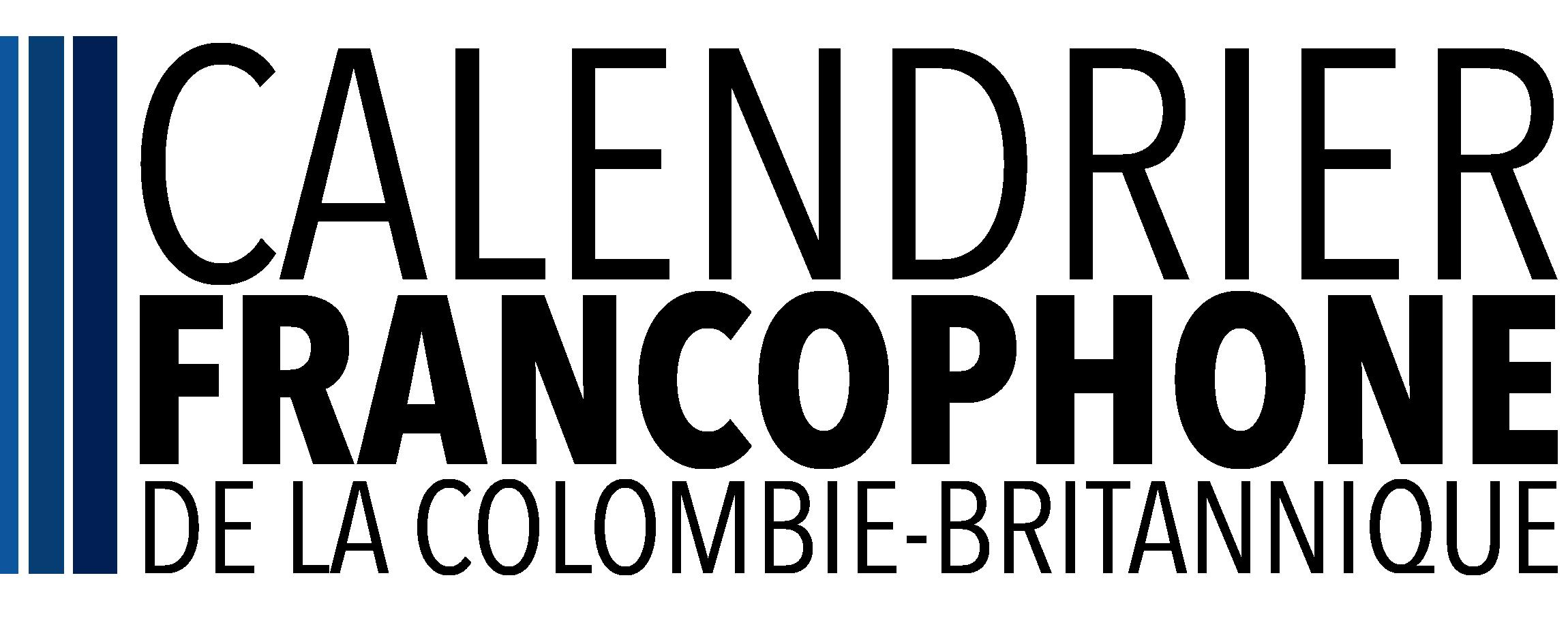 Calendrier francophone de la Colombie-Britannique Logo