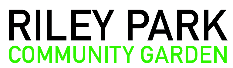 Riley Park Community Garden Logo