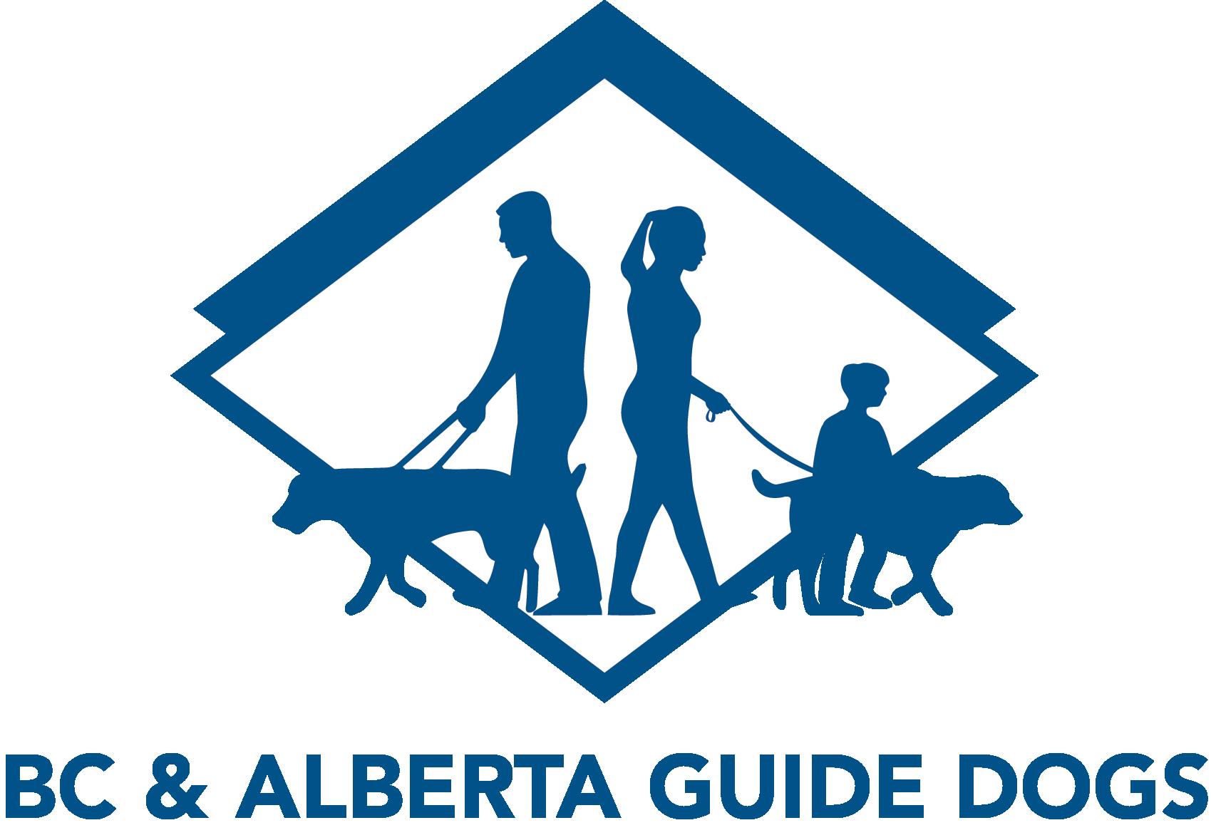 BC & Alberta Guide Dogs Logo