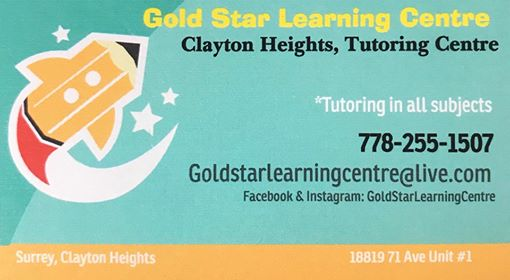 Gold Star Learning Centre Logo