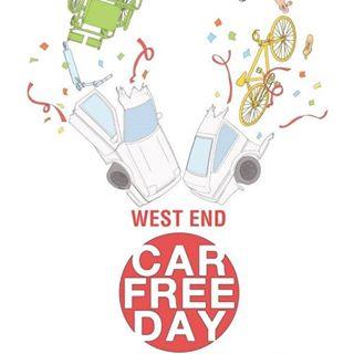 West End Car Free Day 2018 Logo