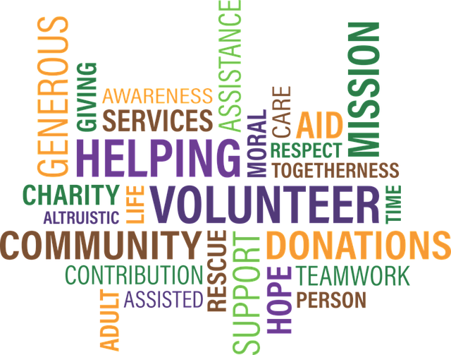 Volunteering keywords
